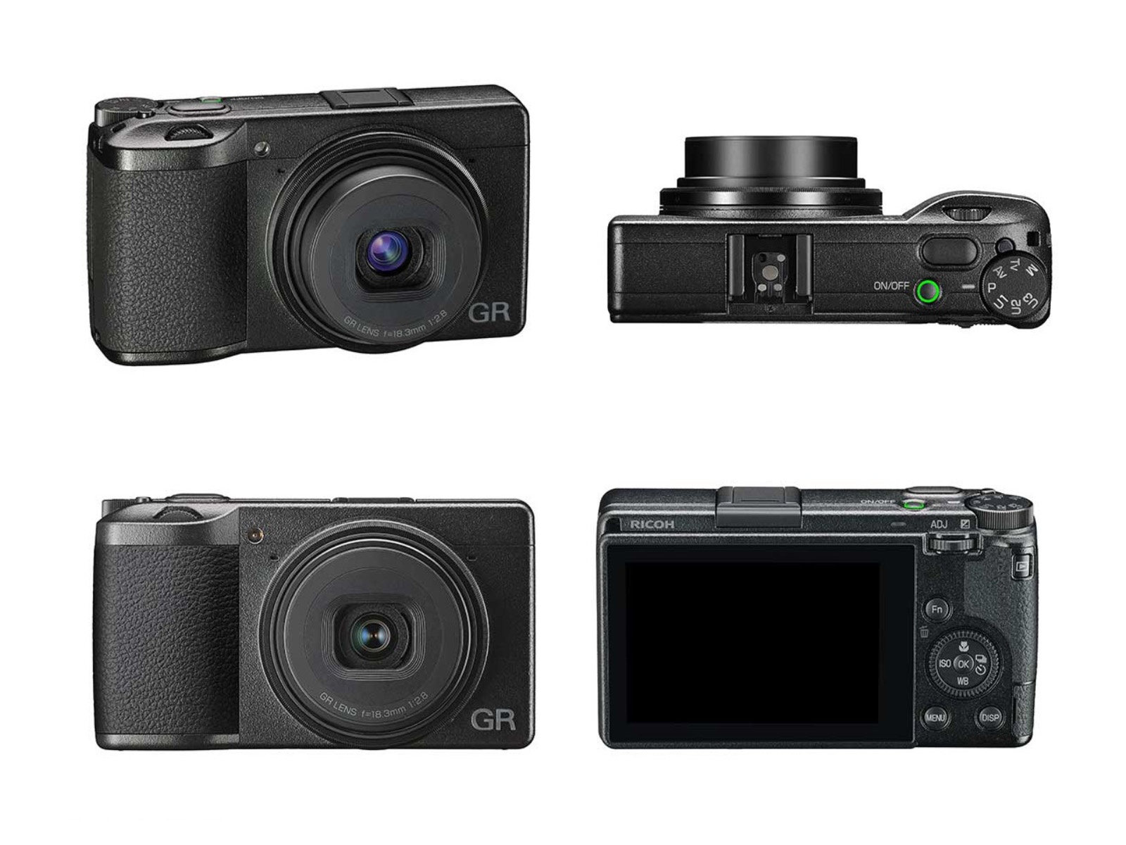 Ricoh GR Three camera