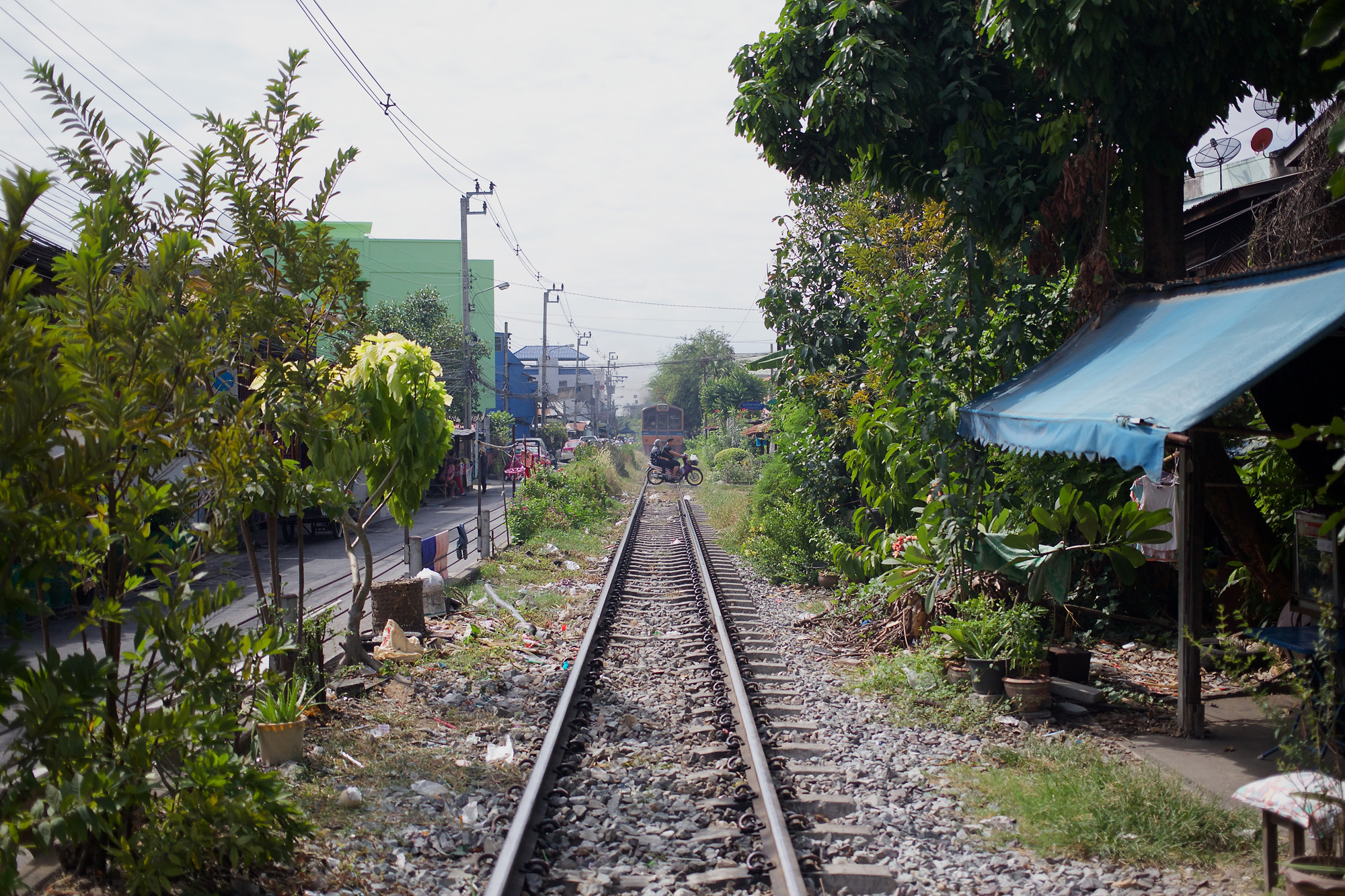 distant view of railway