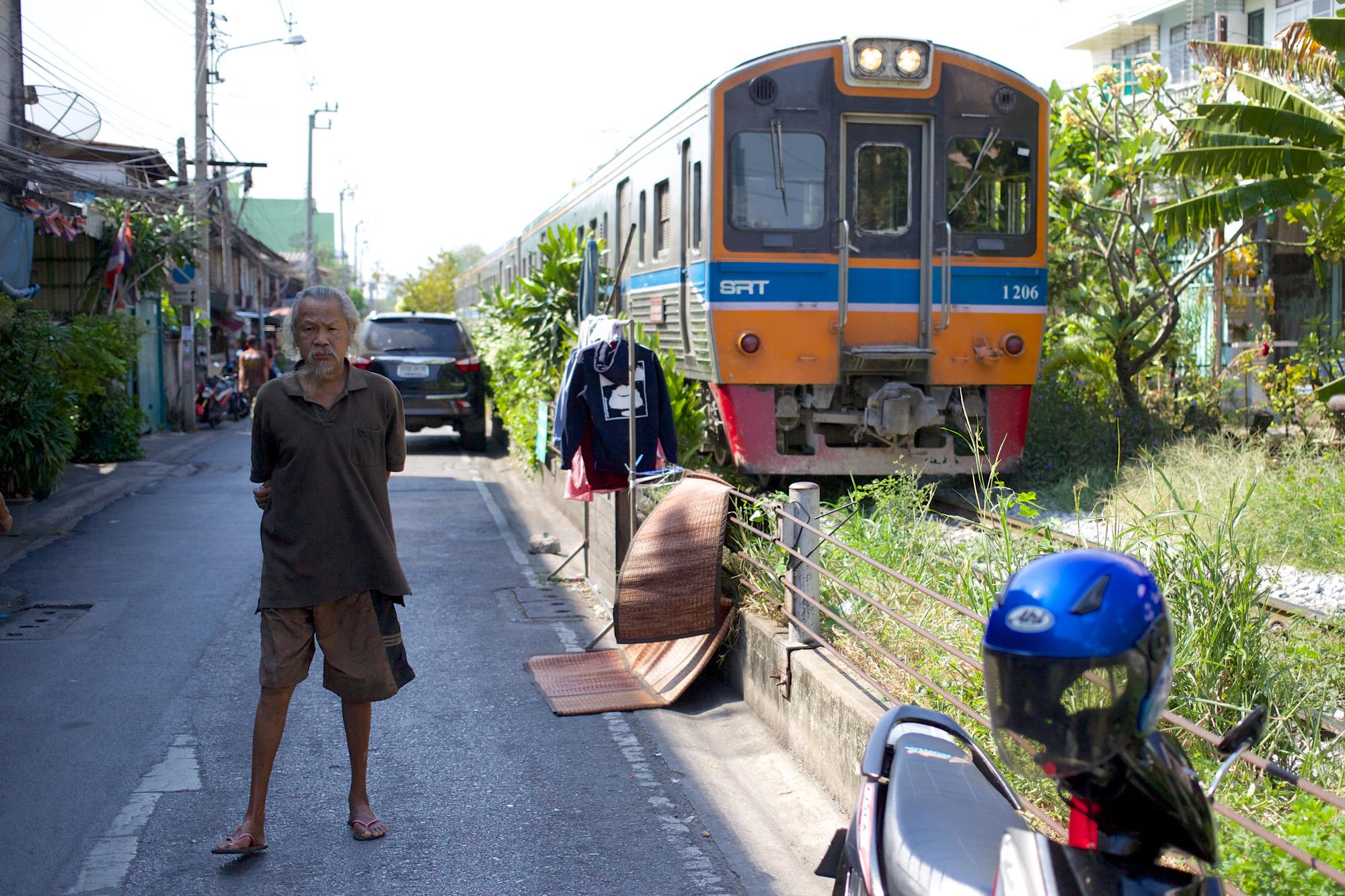 train approaching